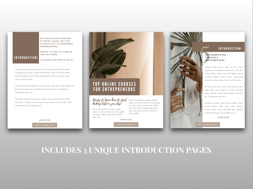 Ruby Somera Design Studio Freebie Templates