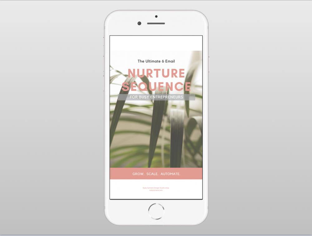 Ruby Somera Design Studio Email Templates