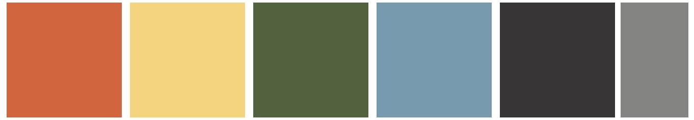 Prana 365 Color Palette