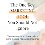 The One Key Marketing Tool You Should Not Ignore
