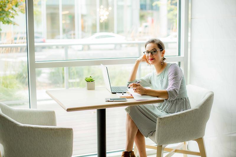 Female entrepreneur brand photoshoot