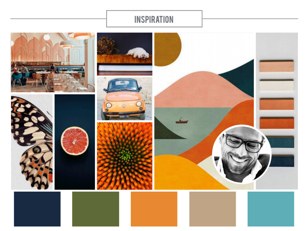 Seven Ways Consulting Inspiration Board