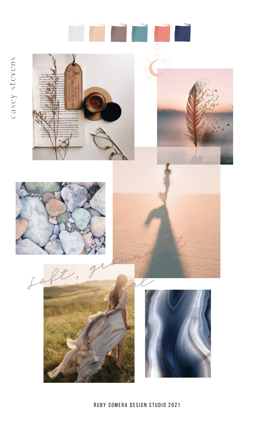 Brand Color and Mood Board