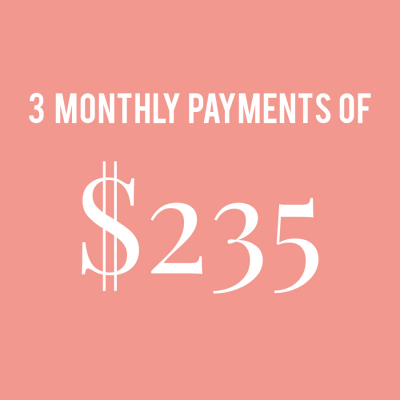CCM MONTHLY PAYMENTS